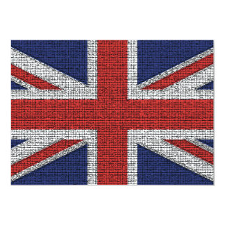 British Flag Tattered Card