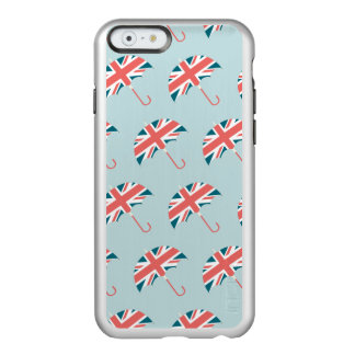 British Flag Umbrella Pattern Incipio Feather® Shine iPhone 6 Case