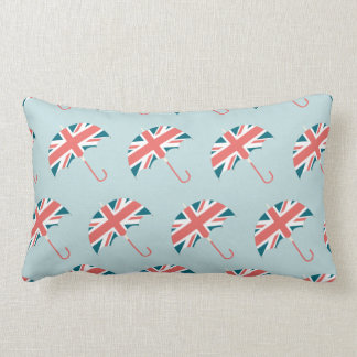 British Flag Umbrella Pattern Lumbar Pillow