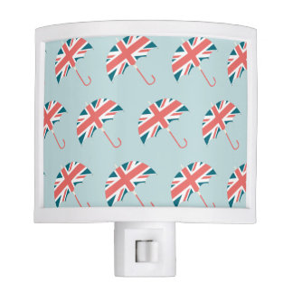 British Flag Umbrella Pattern Night Lites