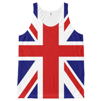 British flag Union Jack All-Over-Print Tank Top