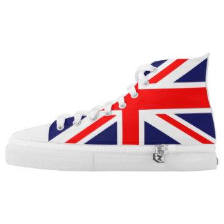 British Flag Union Jack High Tops