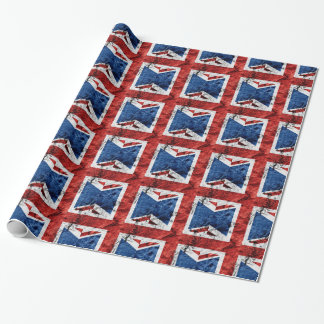 BRITISH FLAG WRAPPING PAPER