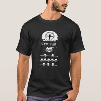 British Foosball Association 'Game Over' shirt