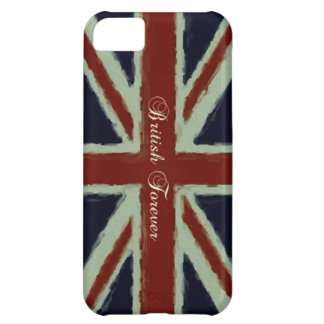 British Forever-Union Jack/Painterly Version iPhone 5C Covers