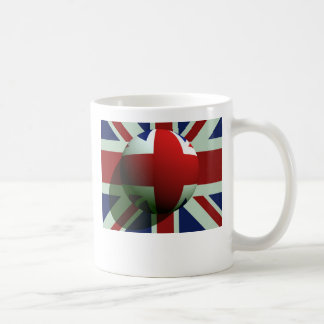 British Globe Flag Coffee Mug