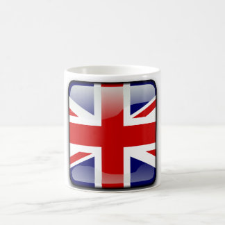British glossy flag coffee mug