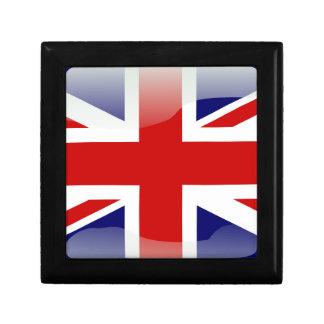 British glossy flag keepsake boxes