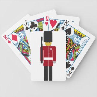 British Guard Bicycle Playing Cards