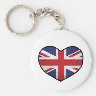 British Heart Keychain