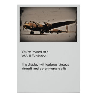 British Heavy Bomber Card