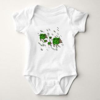 british hedge hogs baby bodysuit
