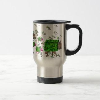 british hedge hogs travel mug