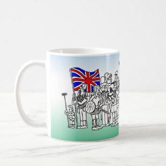 British History Mug - Drawn From History