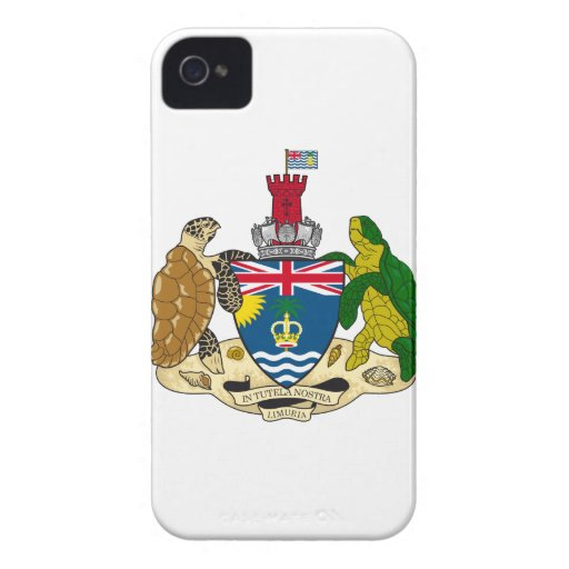 British Indian Ocean Territories Coat Of Arms Blackberry Bold Covers