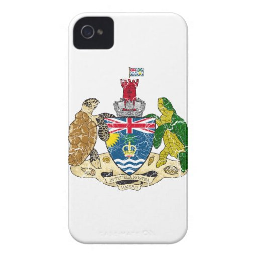 British Indian Ocean Territories Coat Of Arms Blackberry Bold Cover
