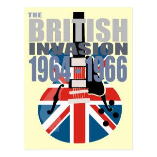 British Invasion 2 Postcard