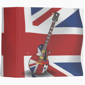 British Invasion 3 Ring Binder