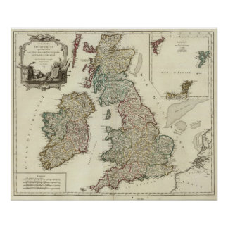 British Isles 3 Poster