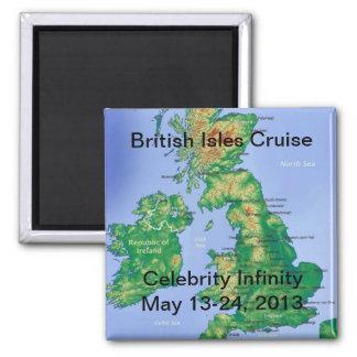 British Isles Cruise Magnet 2013