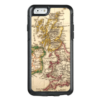 British Isles Map OtterBox iPhone 6/6s Case