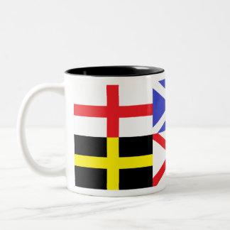 British Isles Patron Saint Crosses Mug