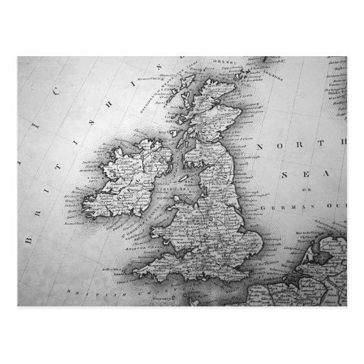 British Isles Post Card
