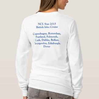 British Isles Star 2015 Cruise Long-Sleeved Tee