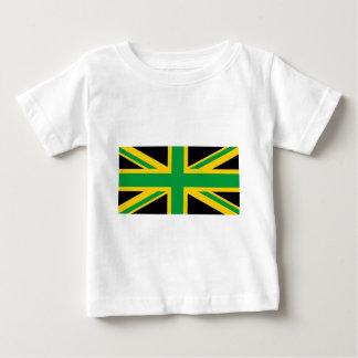 British - Jamaican Union Jack Baby T-Shirt
