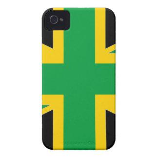 British - Jamaican Union Jack iPhone 4 Covers