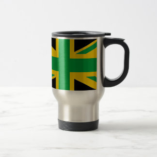 British - Jamaican Union Jack Travel Mug