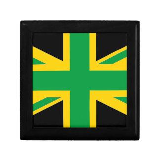 British - Jamaican Union Jack Trinket Boxes