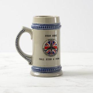 BRITISH JTAC BEER STEIN