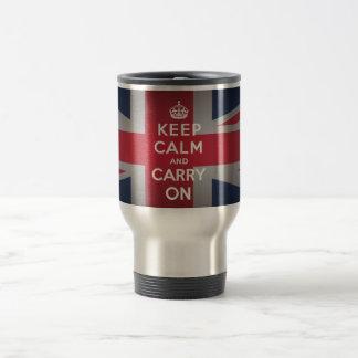 British Keep 15 oz. Stainless steel Travel Mug Cup