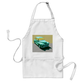 BRITISH MORRIS MINOR STANDARD APRON
