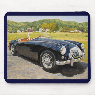 British Motor Corporation MG MGA mouse pad