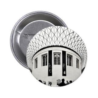 British Museum 2 Inch Round Button
