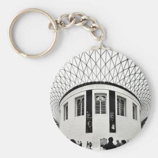 British Museum Basic Round Button Keychain