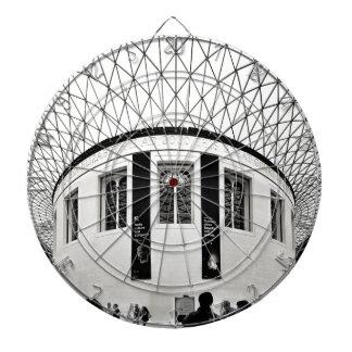 British Museum Dartboard With Darts