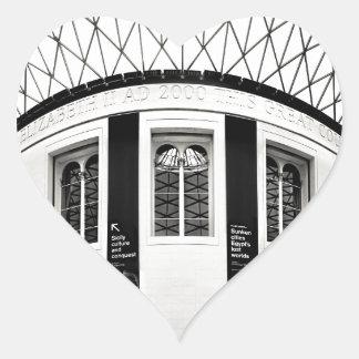 British Museum Heart Sticker