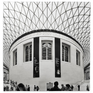 British Museum Napkin