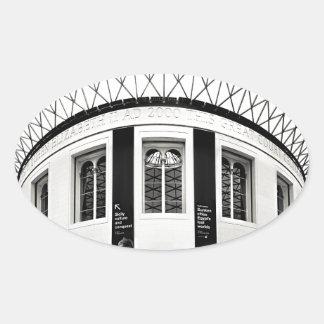 British Museum Oval Sticker
