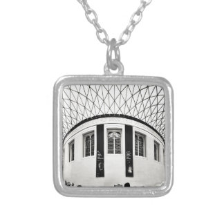 British Museum Silver Plated Necklace