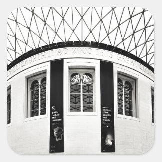 British Museum Square Sticker
