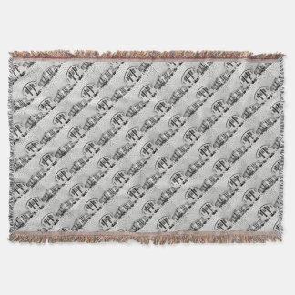 British Museum Throw Blanket