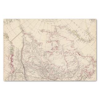 British North America Tissue Paper