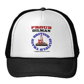 British Oil Field Trash,Oil Field Hat,Cap,Gift,Rig Trucker Hat