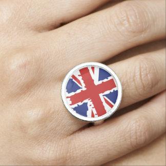 British paint flag rings