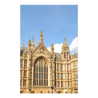 British Parliament Customized Stationery