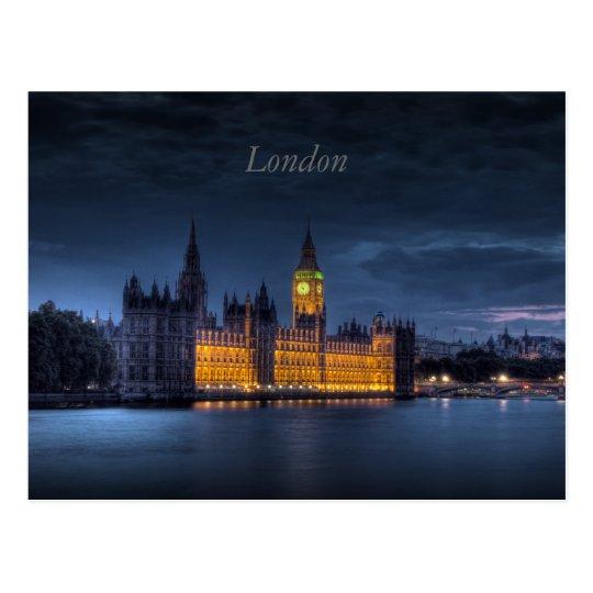 British Parliament in London Postcard